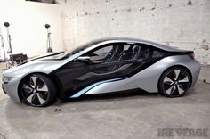 BMW i8: the hybrid supercar at rest