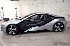 BMW i8: the hybrid supercar atrest