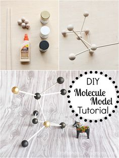 Craftaholics Anonymous® | Modern Decor: DIY Molecule Model