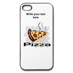 Pizza Restaurant iPhone Hard Case available at PersonalizedSouvenirs.com.