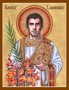 St. Lawrence icon by Theophilia on DeviantArt