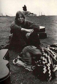 Joni Mitchell & Stephen Stills - Monterey Festival, 1969 Photo: Jim Marshall