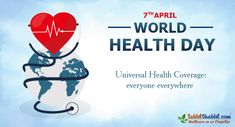 World Health Day is not just a day but a fact that we all have to acknowledge. It's a sad truth that being in an advanced world, we still lack in health awareness and services on a global level. World Health Day, Health Care, Hair Care, Sad, Facts, Blog, Hair Care Tips, Blogging, Hair Makeup
