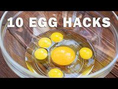 10 AWESOME EGG TRICKS - EGG HACKS - YouTube