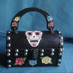 Cute Day of the Dead purse