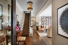 Chicago Greystone - traditional - staircase - chicago - Tom Stringer Design Partners