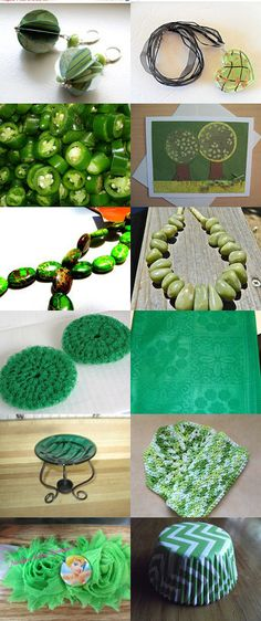 UP Team in Green Promotion by Toni Margerum on Etsy--Pinned with TreasuryPin.com