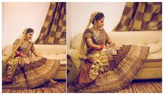 Beautiful Bride- Indian Weddings - Bridal Trousseau - Bridal Lehenga- Kalere - Beautiful Gold Jewelry - Indian Bride - FunctionMania.com blog -