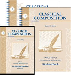 Through the Classical Composition I: Fable Set, students begin learning how to use words to engage the imagination of the audience.