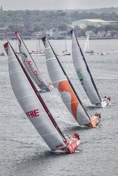 May 16,2015. Team Vestas Wind In-Port Race,Newport Ainhoa Sanchez / Volvo Ocean Race
