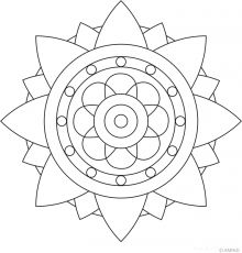 Lotus flower Mandala to color - Bing Images   Paper Crafting ...