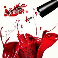 Opi y Coca Cola se unen para crear un nuevo esmalte de uñas súper refrescante. ¿Lo quieres probar?