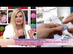 Derya Baykal'la Gülümse: Mantarlı Çocuk Yeleği Yapımı - YouTube