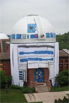 R2-D2, College Observatory Prank