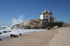 Portugal Capela Do Senhor Da Pedra Waves