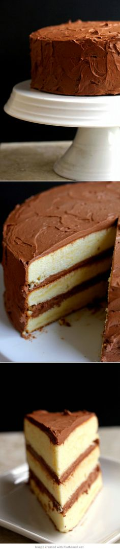 Classic Yellow Cake...nothing easier to make than the basic cake that has been good for years...