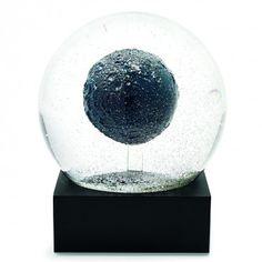 Crystal Moon Snow Globe
