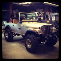 automobile - image It's a Jeep thing.and I totally understand!It's a Jeep thing.and I totally understand! Cj Jeep, Jeep Truck, Jeep Rubicon, Jeep Wrangler, Pickup Trucks, Jeep Cj7 Renegade, Badass Jeep, Offroader, Cool Jeeps