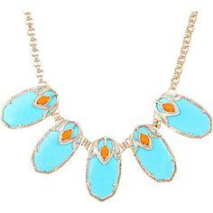 love this color combo! Kendra Scott Dori Necklace SKU: #7963053