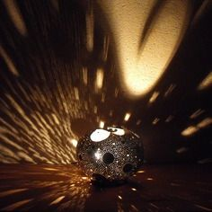 "Lampe courge / calebasse ""bulle"""