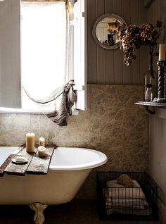 Banheiros no estilo cottage