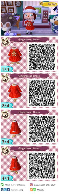 Life in (a) Teacup: Dress version of my Gingerbread Sweater, as per request from a friend. Happy Holidays!  Sweater version also available :)
