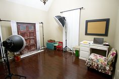 studio idea and props