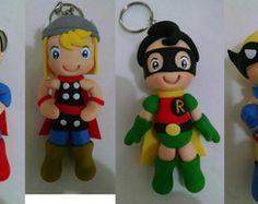 Chaveiro Super Heróis