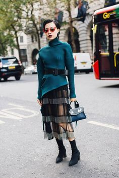 Street style : elles portent la robe habillée en journée - Elle