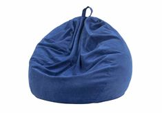 Nobildonna Stuffed Storage Bird's Nest Bean Bag Chair Cover (No Filler) for Kids and Adults. Extra Large Beanbag Stuffed Animal Storage or Memory Foam Soft Premium Corduroy Covers (Dark Blue) Large Bean Bag Chairs, Large Bean Bags, Cool Bean Bags, Kids Bean Bags, How To Make A Bean Bag, Bean Bag Storage, Bean Bag Sofa, Bean Bag Covers, Chaise Longue