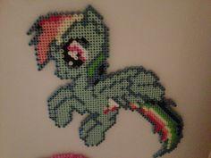 RainbowDash hama beads sprite  by CyndieBee on deviantart