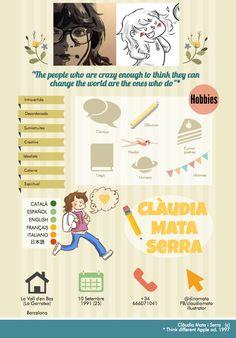 Mi ficha personal. :) Personal Branding, by Clàudia Mata Serra @dinamata