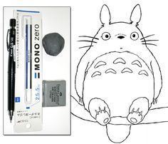 Totoro drawing tutorial introduction
