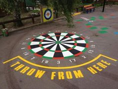 Playgrounds markings & Lining for schools across Lincolnshire and . Playground Painting, Playground Flooring, Playground Games, School Recess, Paint Games, Dream School, Garden Games, Outdoor Education, Outdoor Play