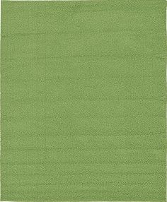 Green Solid Basic Area Rug