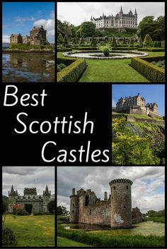 Scotland Travel Guide - Best Scottish Castles (most enchanting, most impressive, best locations.) Discover the best Scottish Castles - 19 of the best castles in Scotland including the best ruins, the most fairytale-looking. with photos and a video Scotland Travel Guide, Scotland Vacation, Scotland Trip, Glasgow Scotland, Outlander, Scotland Castles, Scottish Castles, Places To Travel, Travel Destinations