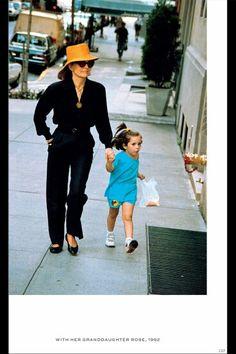 Jackie and granddaughter Rose