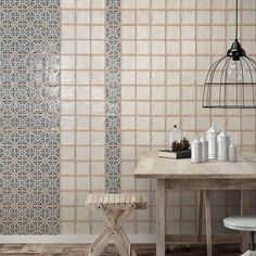 The Arquivo bakula will look great in your contemporary yet rustic home with its weathered blue design. Featuring uneven edges and imitations of scuffs of spots, you can capture the look of age-old tiles for your living space. Semi - vitreous and easy to maintain, this product can be used on any interior residential floor or wall.