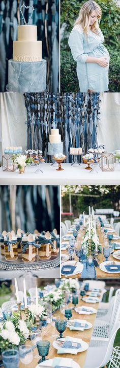 Blue Jean Theme Baby Shower
