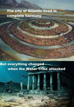 So THAT'S what happened to Atlantis.