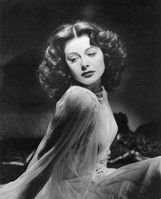 the very beautiful Hedy Lamarr