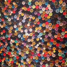 paul smith button wall.