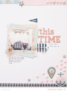 A Project by blinksoflife from our Scrapbooking Gallery originally submitted at AM 12x12 Scrapbook, Wedding Scrapbook, Scrapbook Sketches, Scrapbook Paper Crafts, Scrapbooking Layouts, Crate Paper, Studio Calico, Mini Albums, Layout Design