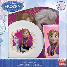 Disney Frozen Dinnerware Set 3pc