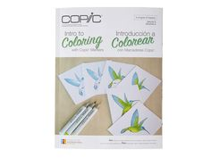CF Intro To Coloring With Copic Markers Book Autographed