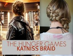 The hunger games Katniss tutorial.  I want to try this !