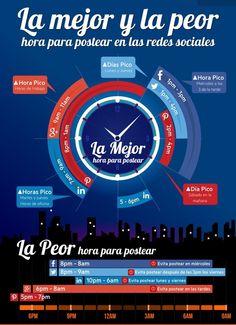 Para sacarle el mayor partido a tus redes sociales esta infografia os ayudara! www.yolandaypaul.com/pin