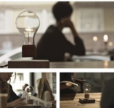 Flyte is a newly invented light that levitates in the air while it shines bright, drawing charge from its charge box right underneath it.