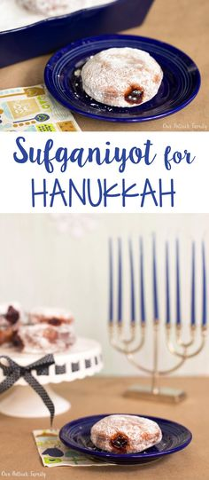 Try a new recipe this year! These Sufjaniyots are perfect for your Hanukkah celebration. After all, who doesn't love fruit-filled donuts?
