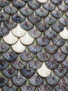 Mosaïque plumée |MilK decoration                                                                                                                                                                                 Plus